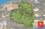 Карта городов Тульской области.  Добавлена 18 февраля 2014 года.  Зарегистрируйтесь. чтобы увидеть описание...